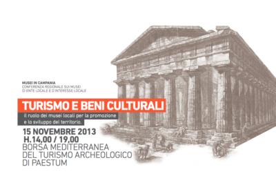 Luciano de Venezia e Marianella Pucci presentano il progetto MuseinCampania a Paestum per la Borsa del Turismo Turismo e beni culturali