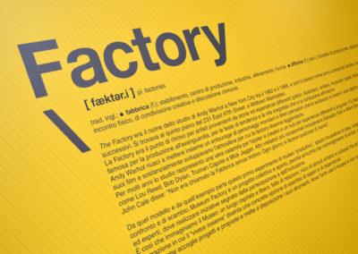 Museum Factory - Musei incubatore di creativit? Art direction Luciano de Venezia produzione Mediateur